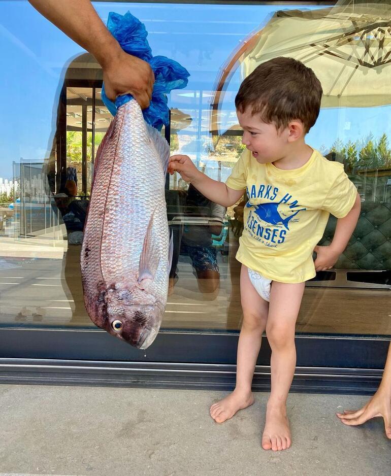 Özçivit Ailesi balık avında Bu dolaba nasıl sığacak