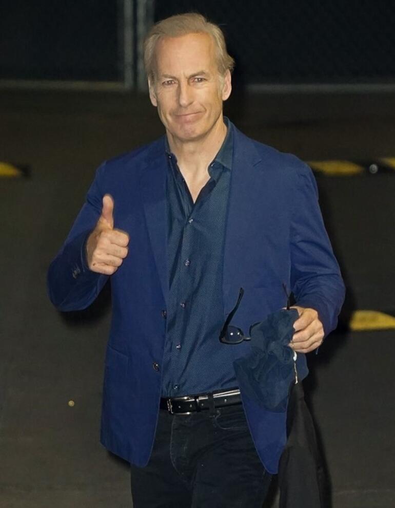 Ünlü aktör Bob Odenkirk hastaneye kaldırıldı