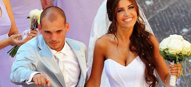 Photo of Sneijder'in eşi Yolanthe'nin fotoğrafına bakın ne yorum yaptılar?