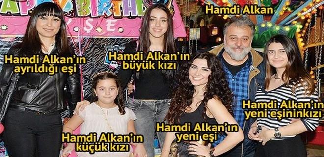 Photo of 'MEDENİYET BUDUR' HAMDİ ALKAN'IN ESKİ VE YENİ EŞİ BİR ARAYA GELDİ!..