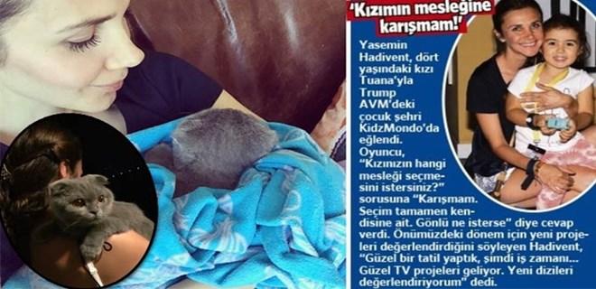 Photo of İŞTE YASEMİN HADİVENT'İN GERÇEK KIZI!..