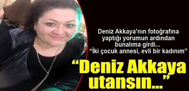 Photo of DENİZ AKKAYA'NIN AFİŞE ETTİĞİ KADIN BUNALIMA GİRDİ!..