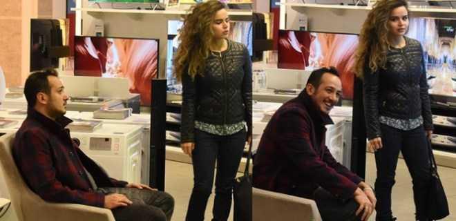 Photo of SARP APAK ÇEYİZ ALIŞVERİŞİNDE!..