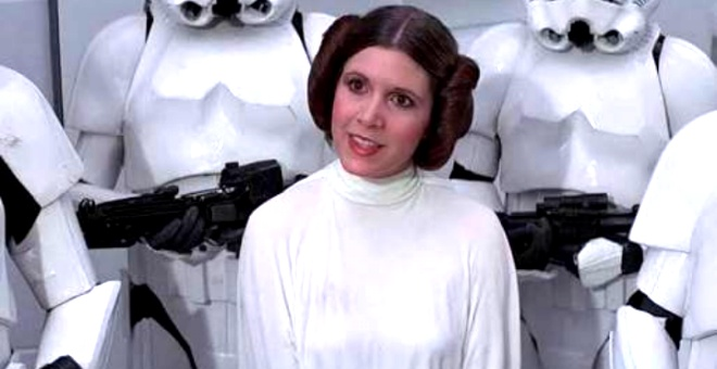 Photo of STAR WARS'UN PRENSES LEIA'SI CARRIE FISHER VEFAT ETTİ!.