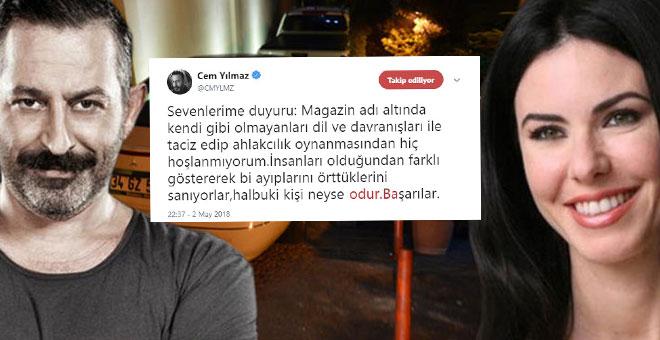 Photo of CEM YILMAZ: TACİZ EDİP AHLAKÇILIK OYNUYORLAR!