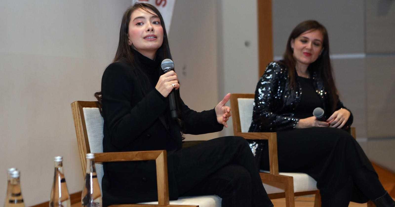 Photo of Neslihan Atagül Doğulu'dan öğrencilere ziyaret!