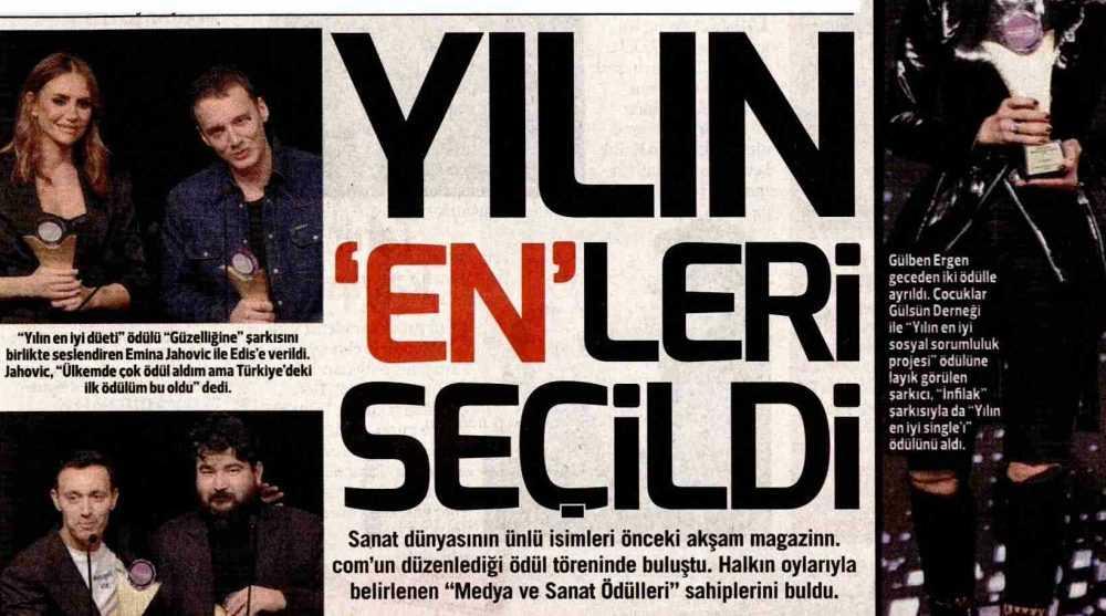 Photo of Magazinn.com Medya ve Sanat Ödülleri töreni tüm gazete manşetlerini süsledi!