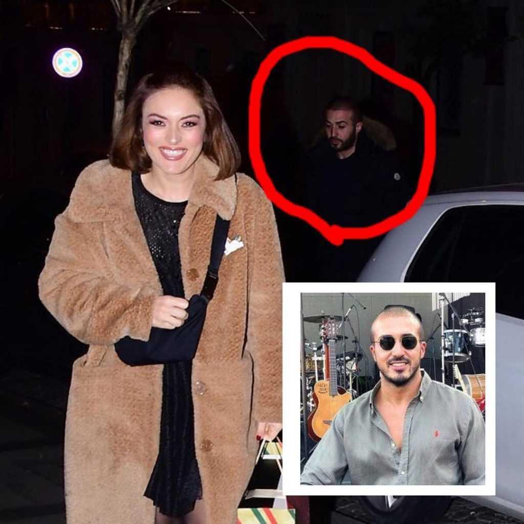 Ezgi Mola yeni sevgilisi Mustafa Aksakallı