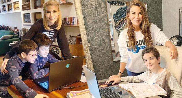 Photo of Ünlü annelerin online eğitim paylaşımları!