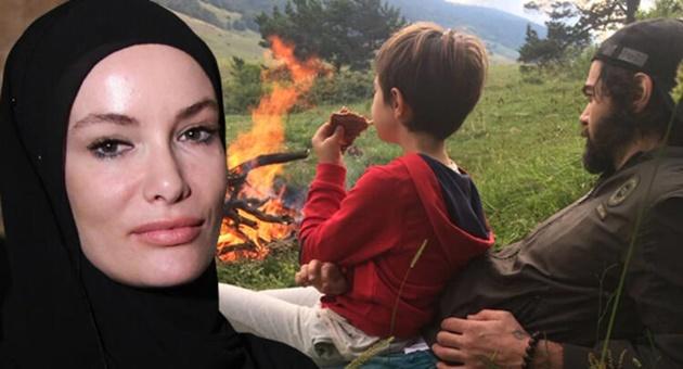 Photo of Gamze Özçelik, oğlu Murathan'ı babası Uğur Pektaş'a göstermiyor mu?