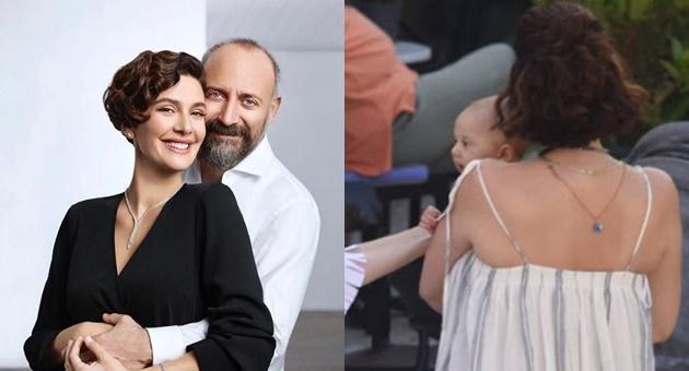 Photo of Han bebeğin babası Halit Ergenç'e benzerliği dikkat çekti!