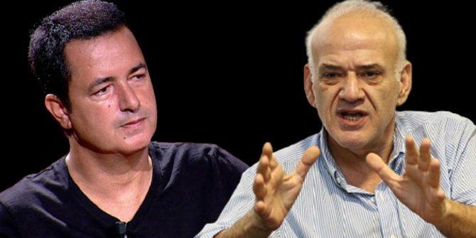 Acun Ilıcalı ve Ahmet Çakar canlı yayında birbirine girdi!