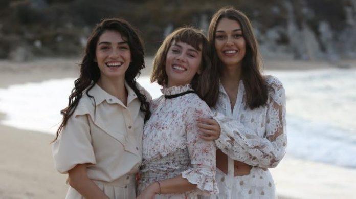 Alev Alev dizisinden ilk fragman geldi! Demet Evgar, Hazar Ergüçlü ve Dilan Çiçek Deniz başrolde!