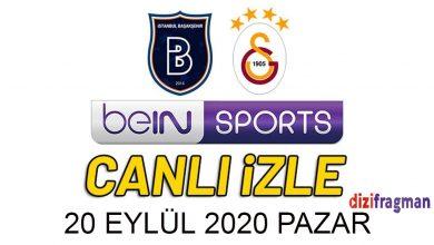 Photo of Bein Sports 1 izle Başakşehir 0 – 1 Galatasaray maçı canlı izle şifresiz Lig Tv Gs Başakşehir