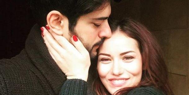Budur! Burak Özçivit ve oğlu Karan'ın fotoğrafını Fahriye Evcen tek kelimeyle özetledi!