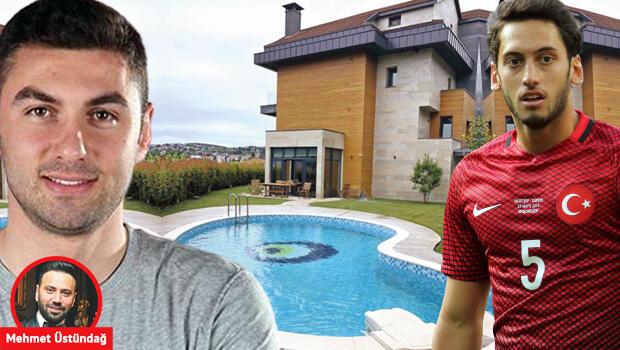 Burak Yılmaz evini Hakan Çalhanoğlu'na sattı!