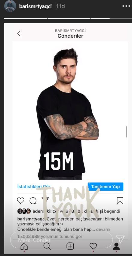 Dünya rekoru kırmıştı! Survivor Barış Murat Yağcı'nın o paylaşımı 15 milyona ulaştı