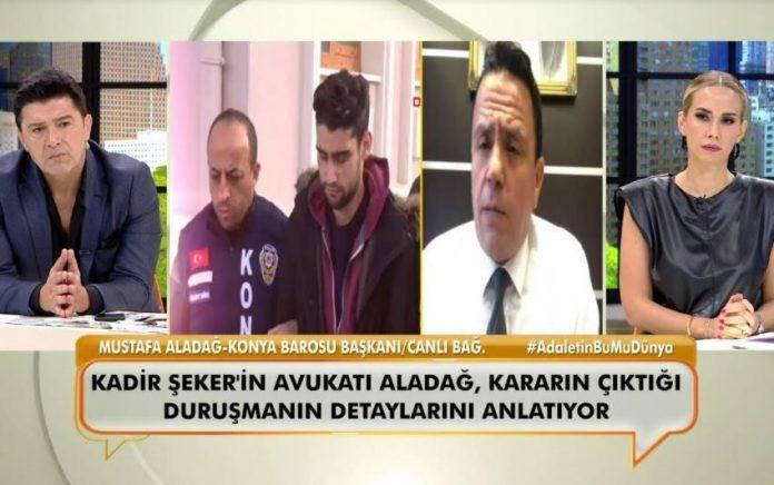 12 yıl 6 ay ceza alan Kadir Şeker'in avukatının karara farklı bakış!