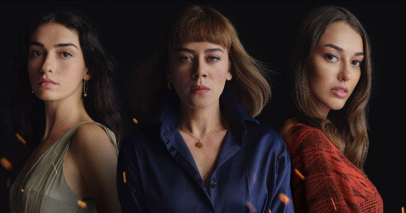 Alev Alev dizisinin afişi ortaya çıktı, 3 güçlü kadın ve bomba gibi bir dizi!