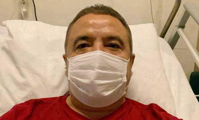 Başkan Böcek'in son 24 saatteki sağlık durumunda olumsuzluk yok