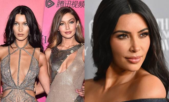 Bella Hadid ve Gigi Hadid kardeşlerden Kim Kardashian'a tepki!