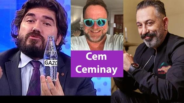 """Cem Ceminay komedyenleri gömdü: """"Serdar Ortaç ve ROK'tan başka komedyen kalmadı!"""""""