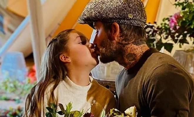 David Beckham'ın kızıyla olan fotoğrafı sosyal medyayı karıştırdı