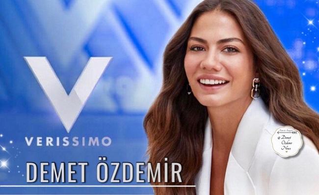 Demet Özdemir İtalyan kanalının ünlü programına konuk oldu