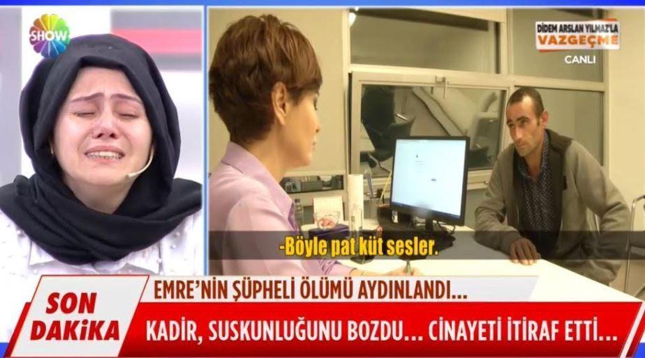Didem Arslan Yılmaz'ın programında cinayet itirafı!