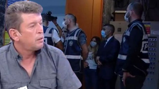 Didem Arslan Yılmaz'ın programında cinayet itirafına polis baskını
