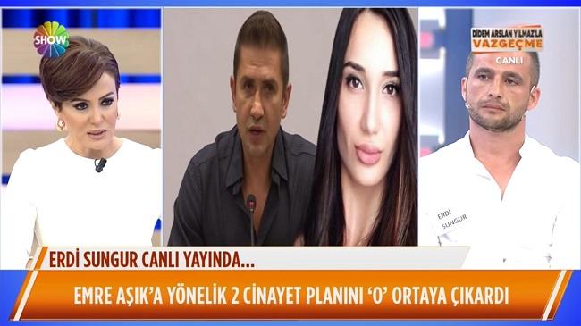 Didem Arslan'ın programında polis Erdi Sungur'u gözaltına aldı