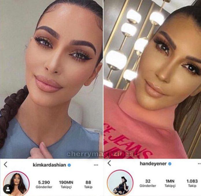 Hande Yener'in Kim Kardashian'a benzemesi şaşırttı