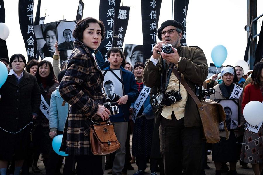 Johnny Depp'in Savaş Fotoğrafçısı W. Eugene Smith'e Hayat Verdiği Minamata Filminden Fragman Yayınlandı