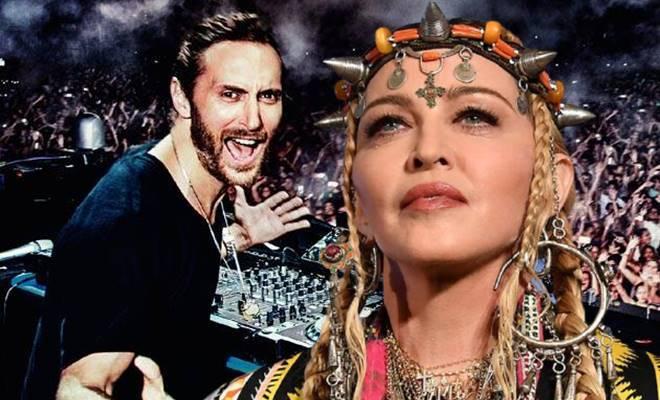 Madonna burcu yüzünden Grammy ödüllü DJ David Guetta'yı reddetti