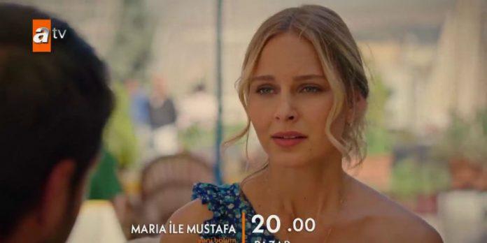 Maria İle Mustafa 7. Bölüm 1. Fragmanı Yayında! Maria Gonca'nın Sırrını Mustafa'ya Söyleyecek Mi?