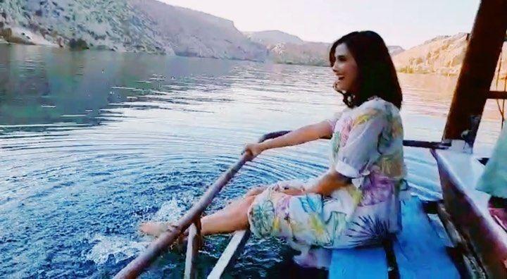 Nehir Erdoğan nasıl mutlu görmeniz lazım! Doğa Rutkay da mutluluk dağıttı