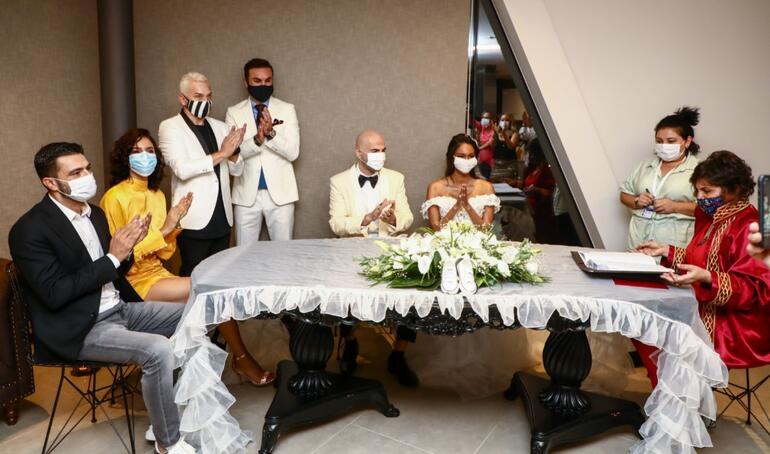 Soner Sarıkabadayı ve Madelein Lopez Camelo evlendi