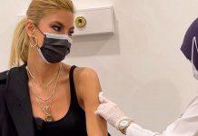 Ünlü manken ve sunucu Çağla Şıkel koronavirüs aşısı oldu!